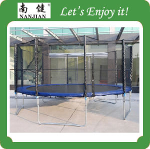 Big Garden Bungee Jumping Outdoor Trampoline for Cheap Sale pictures & photos