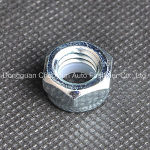 Carbon Steel Nylon Insert Lock Nut Zinc Plated pictures & photos