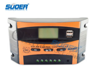 Suoer 12V 24V 10A PWM Solar Charge Controller Solar Controller (ST-C1210) pictures & photos