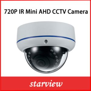 "1/2.8"" Sony CMOS 720p Ahd IR Mini Dome CCTV Camera pictures & photos"