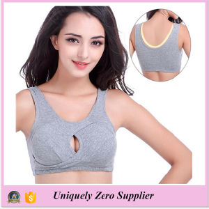 Women Custom Mesh Fabric for Sexy Sportswear Bra pictures & photos