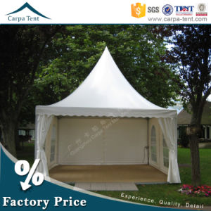 Fancy Design 5m*5m Flame Retardant Exhibition Party Marquee Pagoda Tent pictures & photos