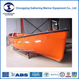 Lacs Approvals F. R. P Single Arm Open Rescue Boat pictures & photos