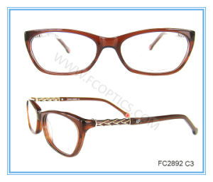 Metal and Acetate Combination Classic  Eyewear Frame pictures & photos