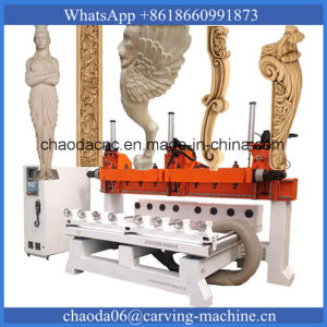 Multi Spindle CNC Router Multi Head CNC Router CNC Multi Spindle Router with 8 Rotary Axis (JCW1325R-8H) pictures & photos