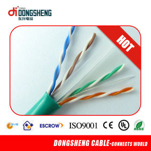 CE/RoHS/ ETL LAN Cable Solid 0.57mm/0.55mm UTP CAT6 pictures & photos