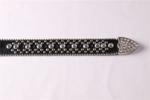 Hot Sale Fashion Ladiess Studs Rhinestone Belt pictures & photos