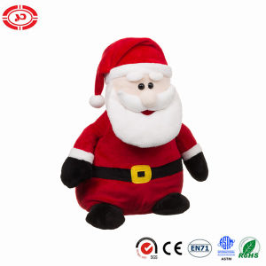 Plush Xmas Santa Clause Cute Soft Stuffed Sitting Toy pictures & photos