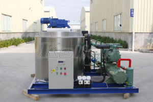 R404A Refrigerant Environmentally-Friendly Flake Ice Machine for Food Process (8 tons per day) pictures & photos