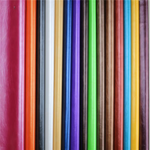 PU Artificial Leather/Synthetic Leather for Shoe, Furniture, Book Covers. pictures & photos