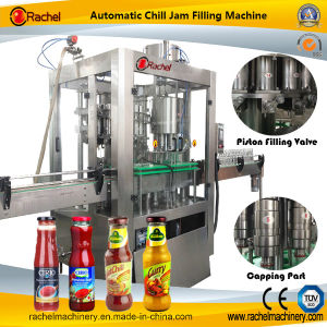 Automatic Lemon Curd Filling Capping Machine pictures & photos