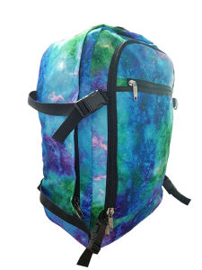 Star Pattern Polyster Backpack, Big Capacity Student Bags Factory