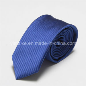 Wholesale Fashion Pinstripe Polyester Silk Mens Ties pictures & photos