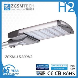 200W LED Street Light with Photocell pictures & photos
