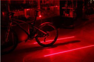 LED Laser Safety Warning Biketail Lights with RoHS pictures & photos