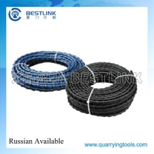 Wire Saw Cutting Machine Accessories Durable Diamond Wires pictures & photos