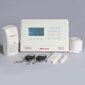 New GSM Alarm with LCD Display and Touchkeypad pictures & photos