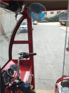 Cheap Closed Motor Tricycle Bajaj Gasoline Three Wheel Trike Tricycle for Passenger pictures & photos