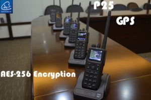 GPS Mapping P25 Digital Handheld Radio with GPS Inform Function in VHF/UHF Band