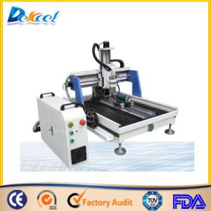 Wood CNC Router with Rotary System 0609 pictures & photos