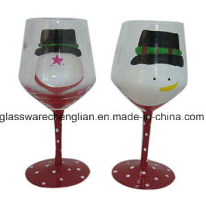 Stemwaret Goblet Wine Glass for Chirismas Day (B-WG054) pictures & photos