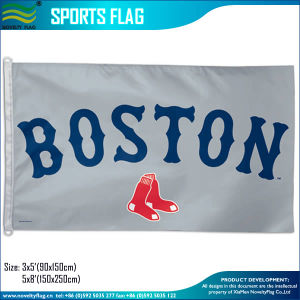 3X5FT Team Sports Fans Custom Polyester Blue Jays Toronto Flags (J-NF01F09034) pictures & photos