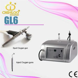 Portable Gl6 Oxygen Injection Oxygen Facial Machine for Home Use pictures & photos
