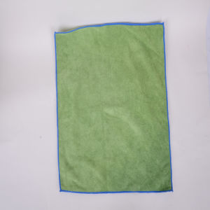 Green, Ultra-Fine Fiber Cleaning Cloth, Customization, Rapid Absorption, Dry, Do Not Fade, Durable
