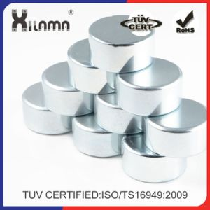 Disc NdFeB Magnet Round Neodymium Magnets Certificated Ts/ISO 16949 pictures & photos