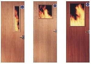 Fire Door/ Wooden Fire Door with BS476 Standard Certified pictures & photos