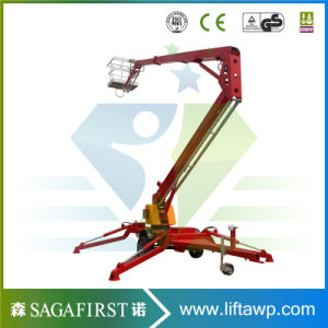 6m to 12m China New Designed Towable Bucket Lift pictures & photos