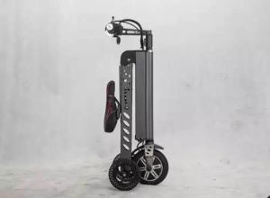 Hot-Selling Three Wheels Mini Folding 8 Inch Electric Bike pictures & photos