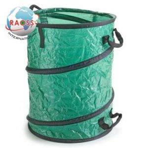 Heavy Duty Spiral Pop up Garden Leaf Collecting Bag pictures & photos
