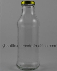 Glass Bottles with Metal Twist-off Cap pictures & photos