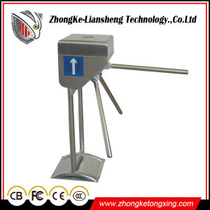 304 Stainless Steel Tripod Turnstile Access Control System Automatic Door