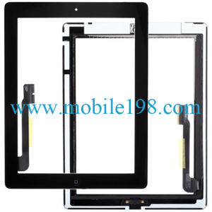 for iPad 3 Original Touch Screen Digitizer Black pictures & photos