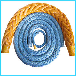 Strand UHMWPE Fiber Braid Mooring Rope pictures & photos