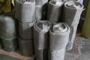 0.25 mm Wire, 50-70 Cm Width, 50 M Length Ss304, 304L, 316, 316L Knitted Wire Mesh pictures & photos
