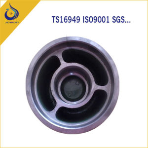 CNC Machining Iron Casting Machinery Parts Rotating Wheel pictures & photos