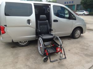 Turning Seat with Wheel Which Canbe Used as Wheelchair with Loading 120kg pictures & photos