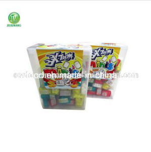 Europe OEM Sugar Free Fruit Flavors Press Candy in Mini Jars pictures & photos