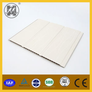 Interior Decorative Double Grooves PVC Laminated Wall Panel pictures & photos