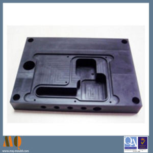 Sheet Metal Milling Parts CNC Aluminum Milling Black Anodized (MQ730) pictures & photos
