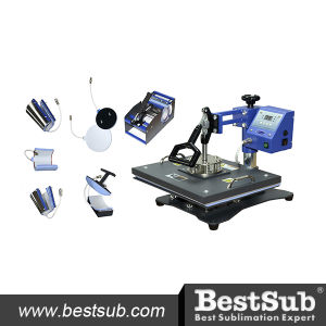 8-in-1 Combo Heat Press (JTSD72) pictures & photos