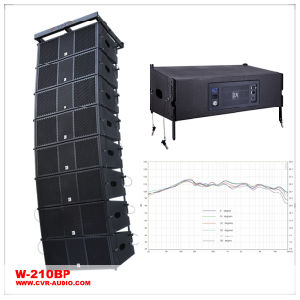 Dual 10 Inch Line Aray Powered Active Sound System pictures & photos