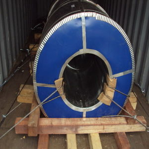 Aluzinc Steel Gi Coil Antifinger Galvanized Steel Coil pictures & photos