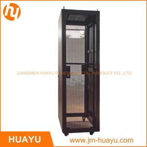 Powder Coated Indoor 600*800*1800mm 36u SPCC Rack Mount Cabinet Network Cabinet