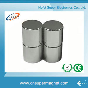 Permanent N50 (45*25mm) Neodymium Cylinder Magnet pictures & photos