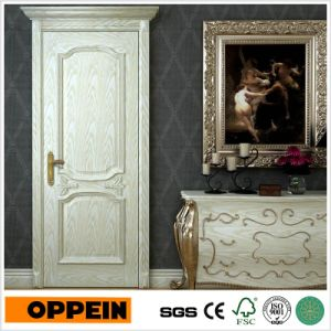 Oppein European Style Solid Wood Composite Wooden Interior Door (MSGD33) pictures & photos