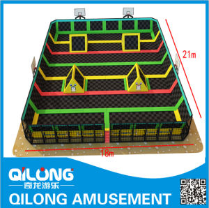 Good Quality Indoor Playground Trampoline Sets (QL-B013) pictures & photos